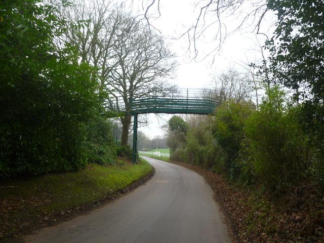 Corfe Mullen, footbridge