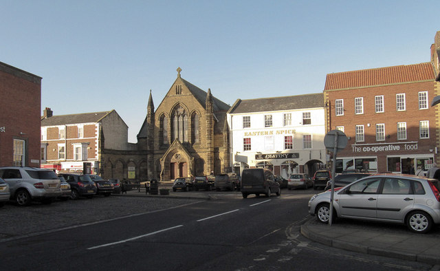 The centre of Stokesley