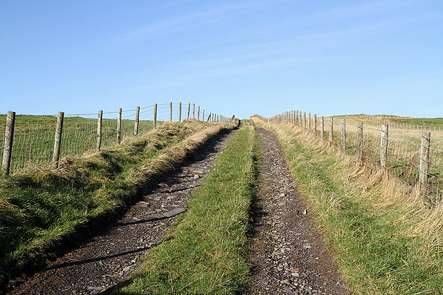 A track on Beattock Hill