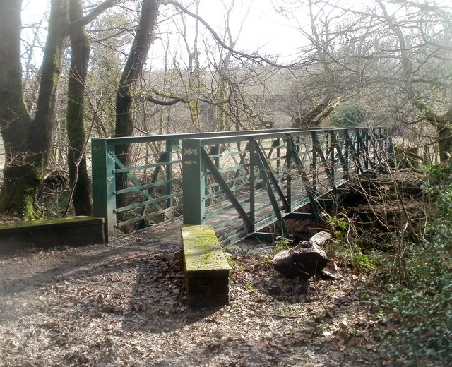 Footbridge over the Rhymney, Machen
