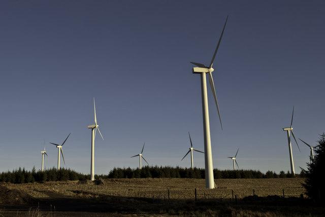 Boulfruich windfarm