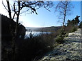 SK1793 : Woodland at the edge of Howden Reservoir by Peter Barr