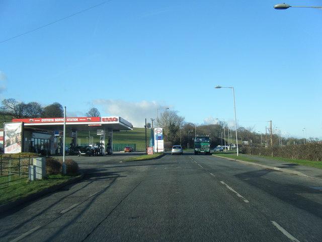 Esso filling station, Denbigh Road