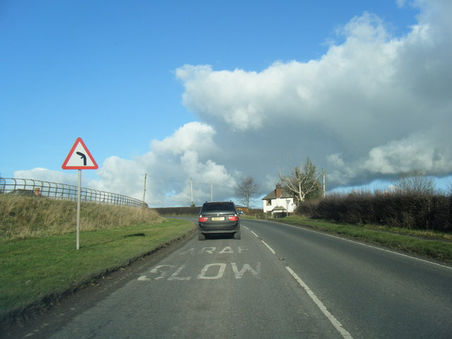 A525 looking north