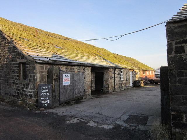 Calverley Clough Farm on New Lane