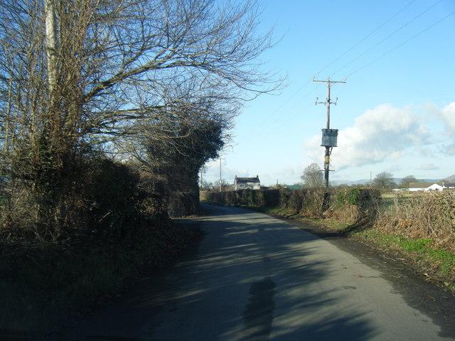 Lane near Pontilen