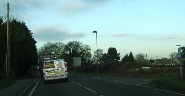 Manor Road junction
