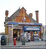 TQ2572 : Wimbledon Park Station, Arthur Road by Stefan Czapski