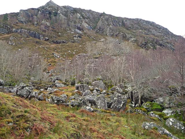 Boulders in Glen Elchaig