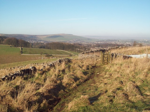 Footpath Approaching Harpur Hill