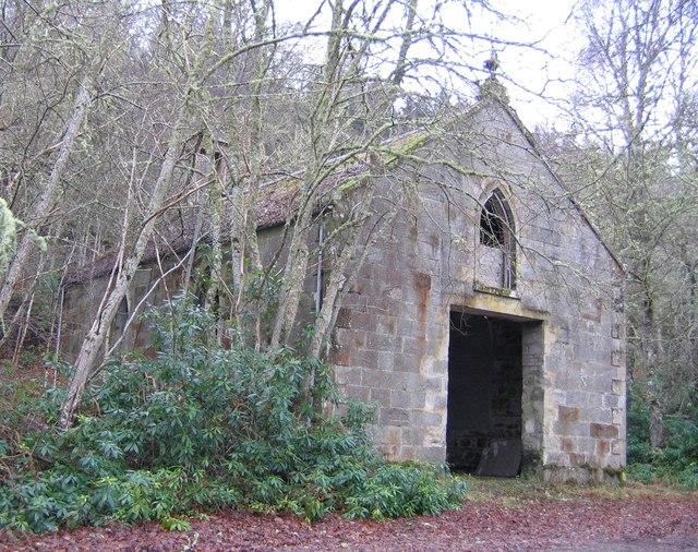 Old church, near Erchless