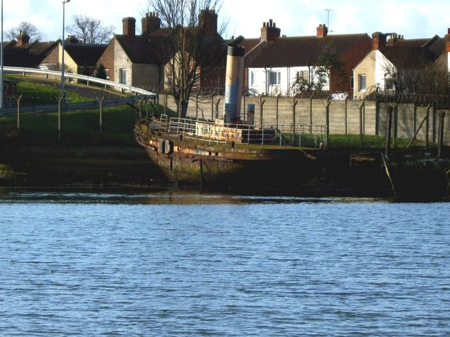 Vadne - viewed from north shore of Forton Lake