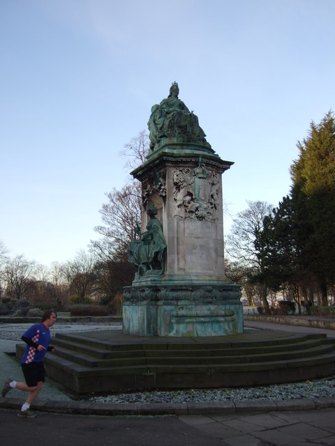 Statue of Queen Victoria, Hyde Park