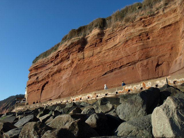 Cliffs at Sidmouth