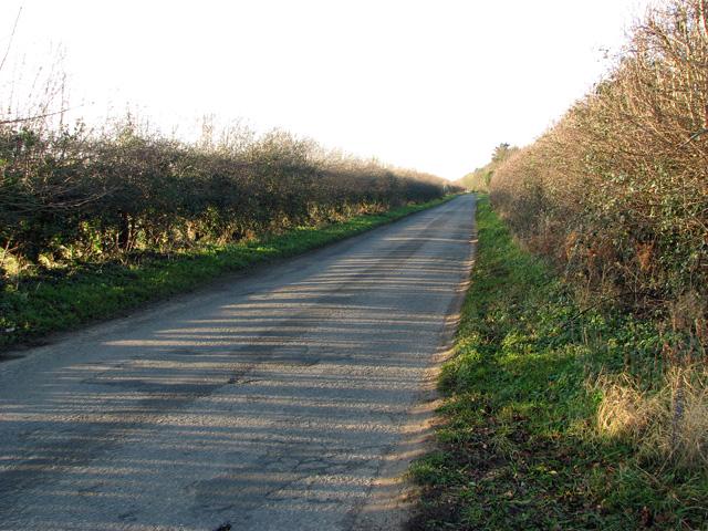 Country lane to Narford