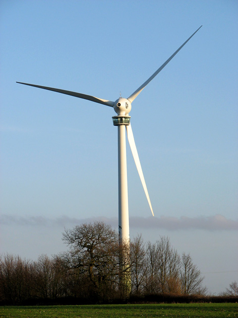 E-66 wind turbine, Swaffham