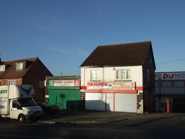 Takeaway restaurants on Stonegate Road