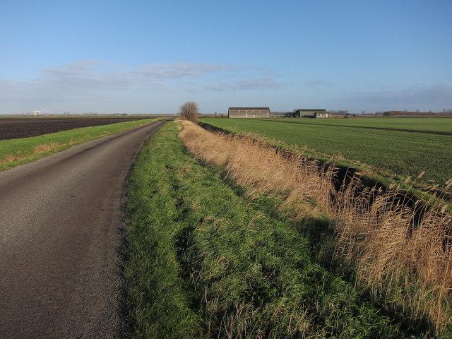 Road to Cross Bank Farm