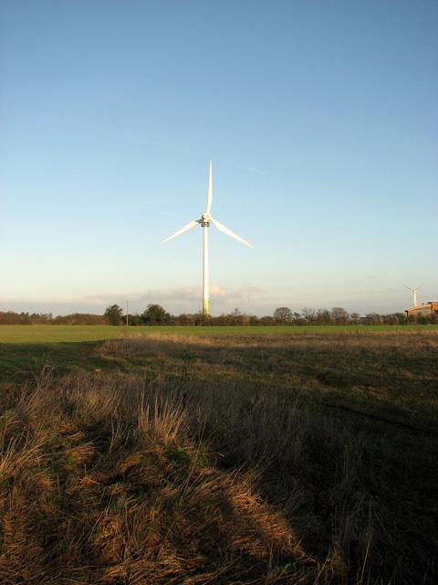 Enercon E66 wind turbine, Swaffham