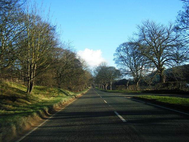 A541 near Afonwen