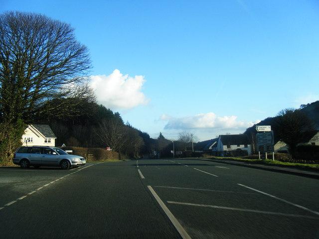 A541 at  Afonwen