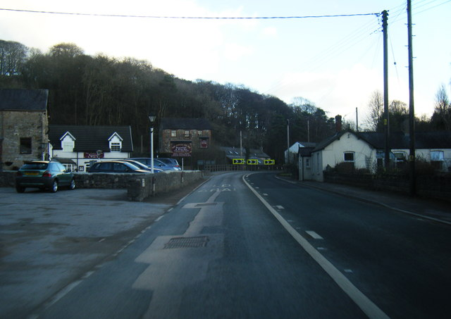 A541 looking east