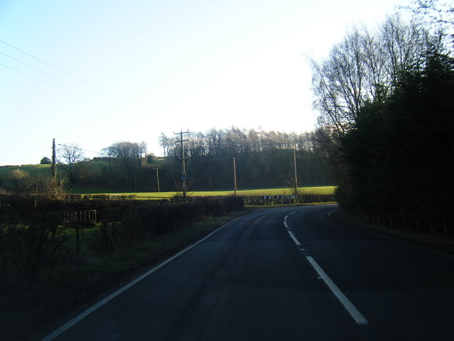 A541 near Nannerch