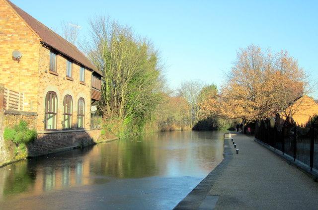 Worcester-Birmingham Canal From Sidbury Lock