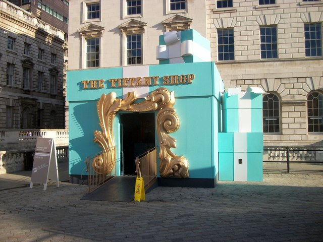Tiffany Shop, Somerset House