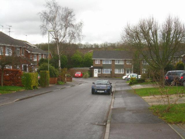 Exiting Brighton Hill estate