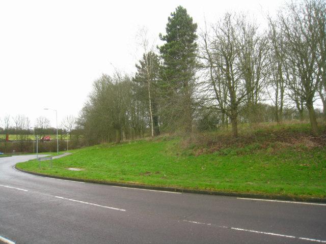 Hatchwarren Lane roundabout