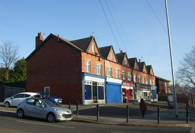 Shops on Stainbeck Road