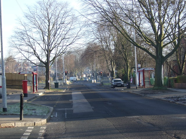 Stainbeck Road heading east