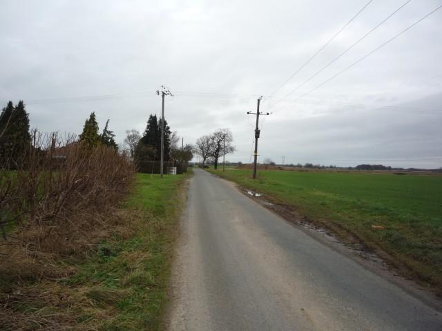 Unnamed minor road