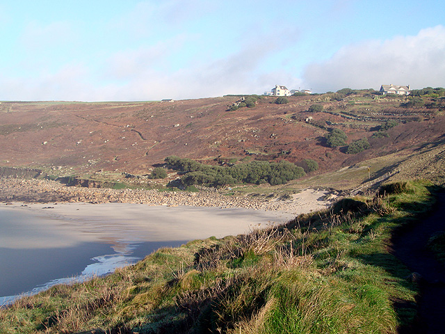 Looking Towards Gwynver on the South West Coastal Path