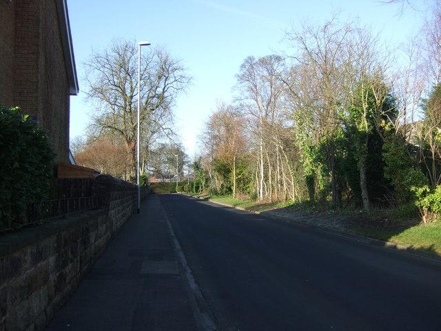 St Helen's Lane heading west
