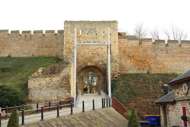 Lincoln Castle, west gate