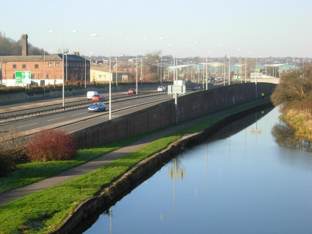 Trent & Mersey Canal, Stoke on Trent