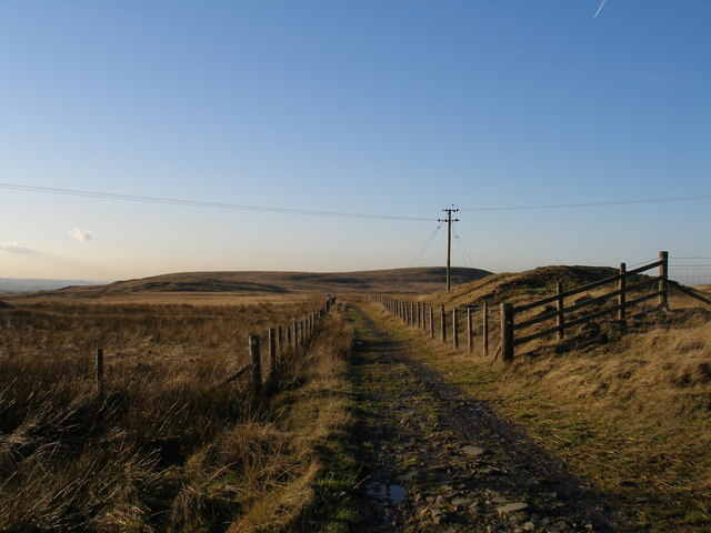 Burnley Way on Hameldon Hill