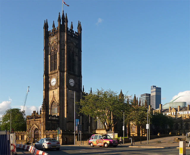 Cathedral, Victoria Street, Manchester