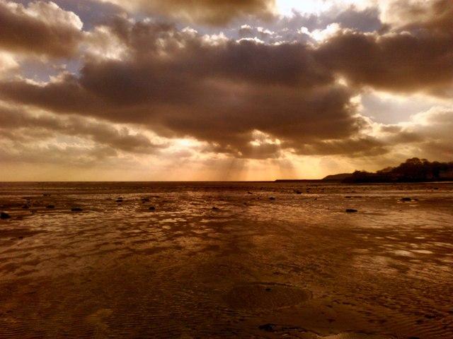 Low tide at Garlieston