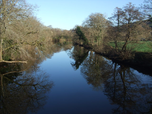 A winters morning Afon Conwy