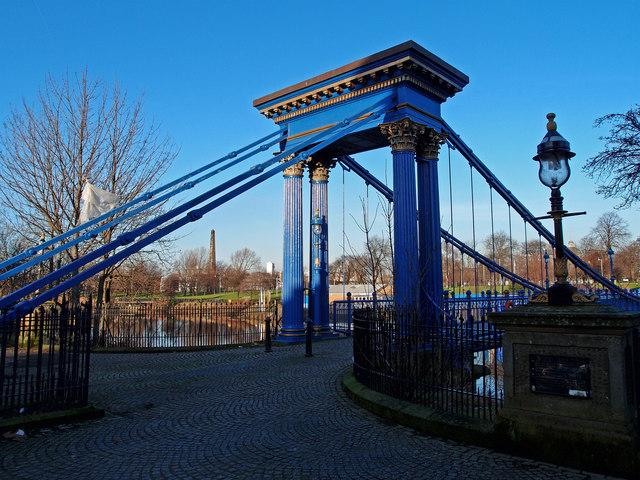 St Andrew's Suspension Bridge