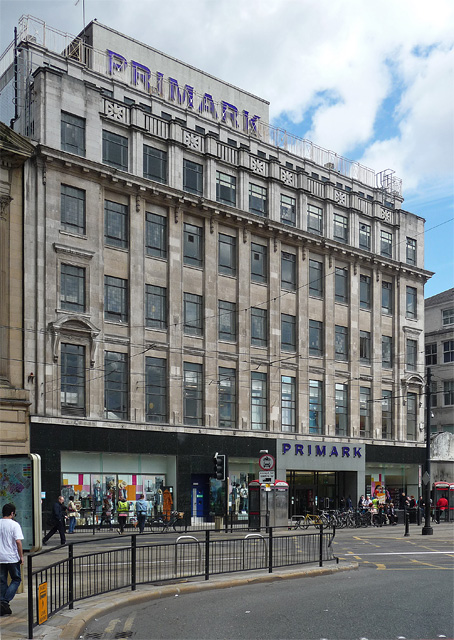 Former Lewis's, Mosley Street, Manchester
