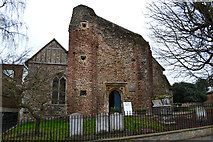 TL9925 : St Martin's church, Colchester, Essex by Peter Stack