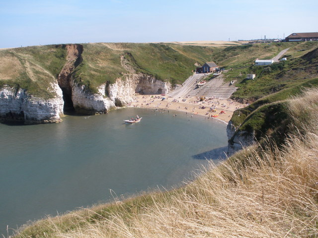 Flamborough Head North Landing Beach