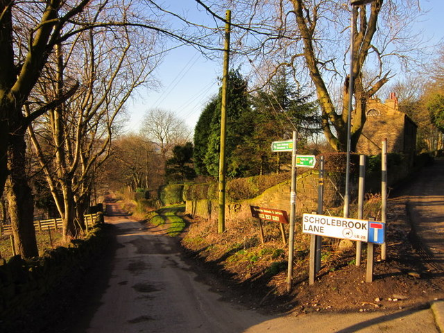 Scholebrook Lane at Bankside