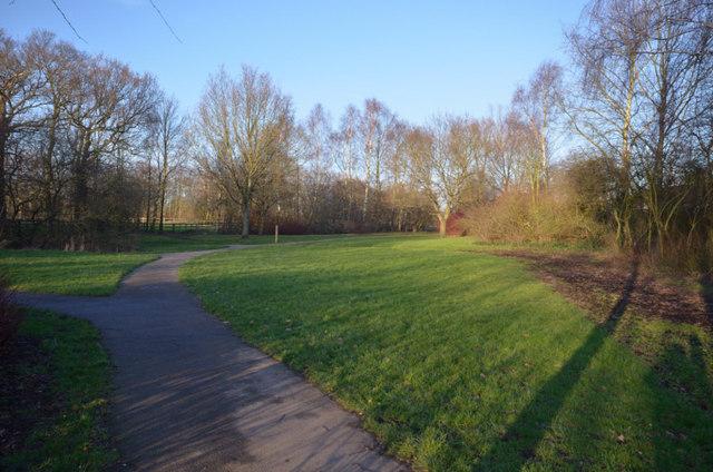 Radley Common footpath