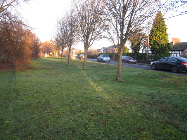 Row-of-Trees 'village green', Wilmslow