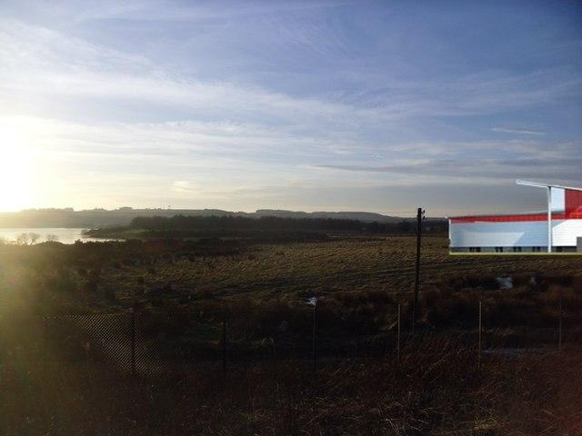 Proximity of Aberdeen FCs stadium to Loirston Loch
